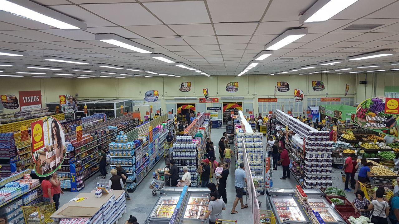 Inauguração da loja de Bragança